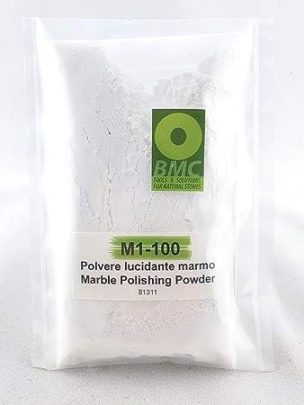 Polvere Lucidante Per Marmo M1 100 Per Rifare La Lucidatura Di Piani Cucina Pavimenti In Marmo E Travertino Amazon It Fai Da Te