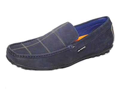 80d20e93d3 Lee Cooper LC2345 Blue Men Casual Loafer Shoe (6 UK): Buy Online at ...