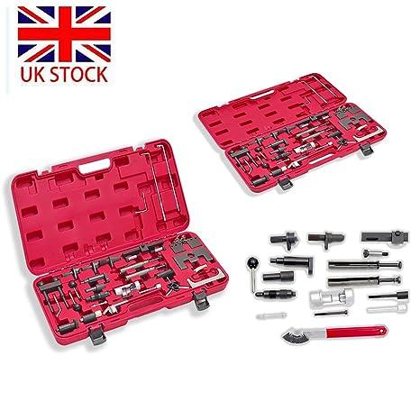 Profesional herramientas de ajuste de motor (36 piezas, Gasolina & Diesel Master Kit para