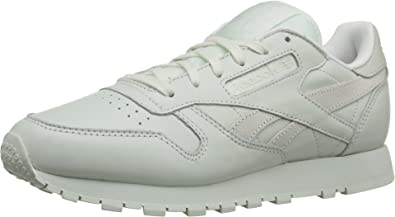 c82654107667b Reebok Lifestyle Women s Classic Leather Spirit Philosophic White Energy  Sneaker