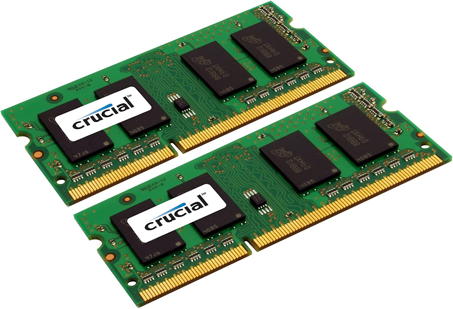 Crucial 8GB Kit (4GBx2) DDR3 1333 MT/s (PC3-10600) CL9 SODIMM 204-Pin 1.35V/1.5V Notebook Memory Modules CT2KIT51264BF1339