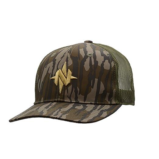 8f28174b1550b Amazon.com : Nomad Camo Trucker Hunting Cap N3000043 (Mossy Oak Bottomland)  : Sports & Outdoors