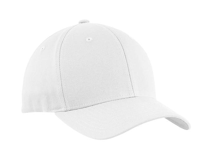 Port Authority Men s Flexfit Cotton Twill Cap at Amazon Men s ... 144b01173f0e