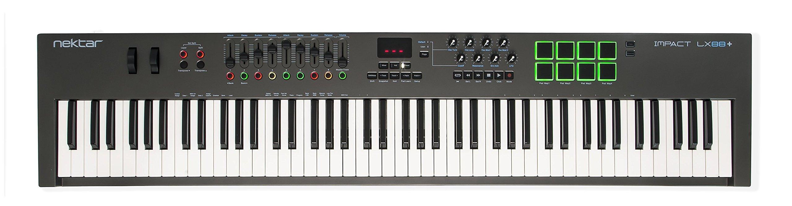 Nektar (IMPACT LX88+) - Best 88-Key MIDI Controller