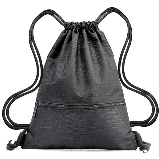a2aa6bbafd55 Drawstring Bag Waterproof Sport Foldable Sack Drawstring Backpack