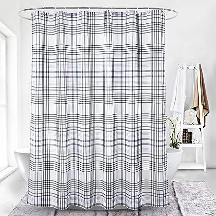 827c2cdeb7e Amazon.com  Fabric Shower Curtains for Bathroom Modern