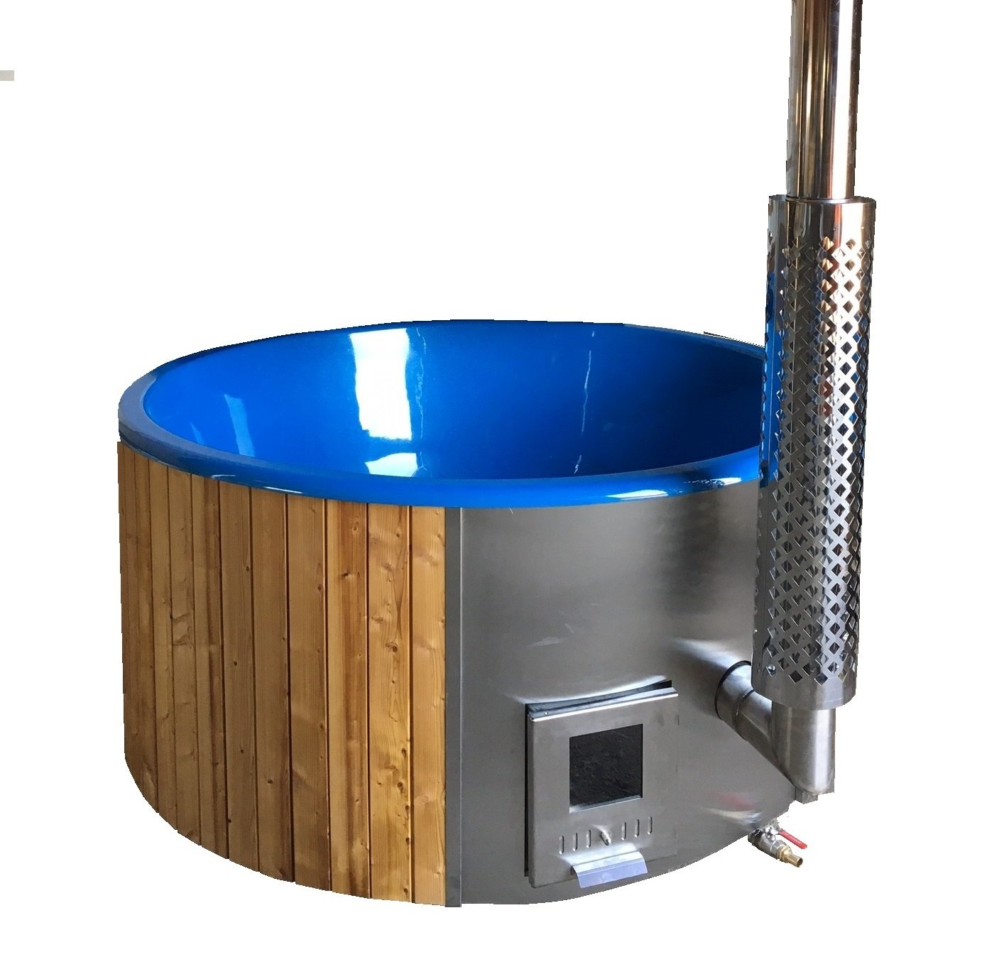 Amazon.com : Allwood Wood fired hot tub model #200 DeeLux ON SALE ...