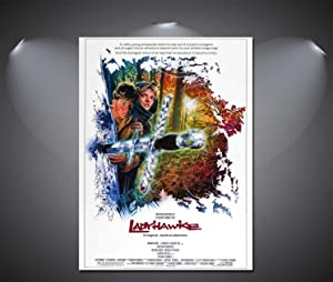 SAVA 147246 Ladyhawke Vintage Movie Decor Wall 24x18 Poster Print