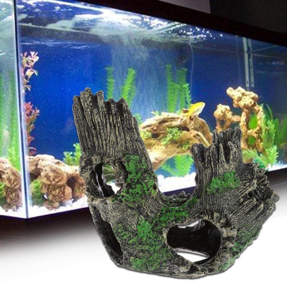 WYXIN Home Fish Tank Acuario Flocado Moss-imitación Simulación Rockery Ornamento Paisaje Underwater Decoration17 * 12 * 19cm: Amazon.es: Productos para ...