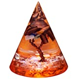 mookaitedecor Orgone Conical Pyramid with Copper