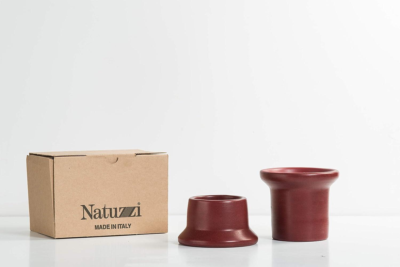 Set Portacandele Terracotta Collezione Natuzzi Design Italiano Decorazione Tavolo Decorazione Matrimonio