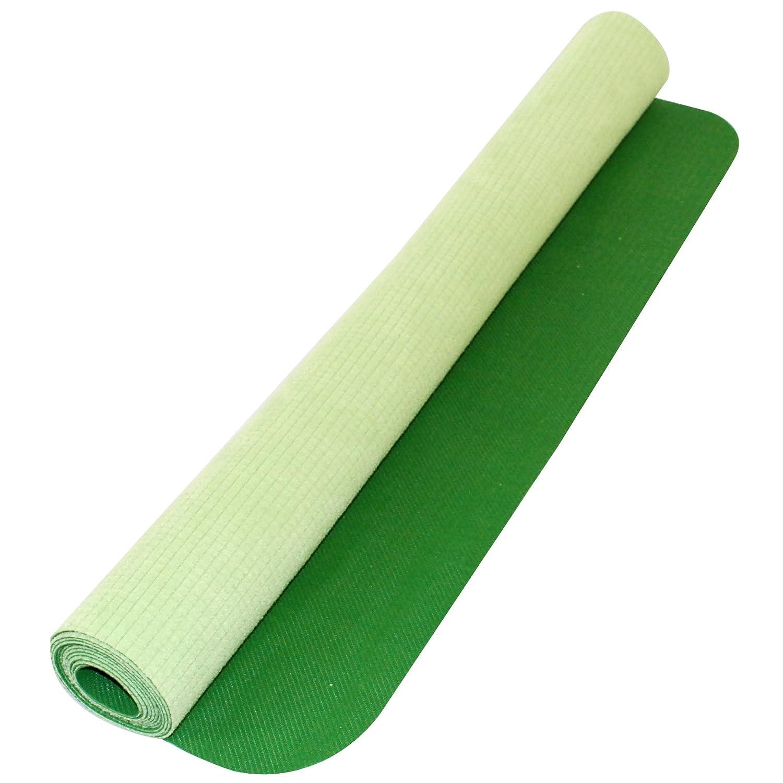 Yoga Direct Deluxe Rubber/Microfiber Travel Yoga Mat (Green)