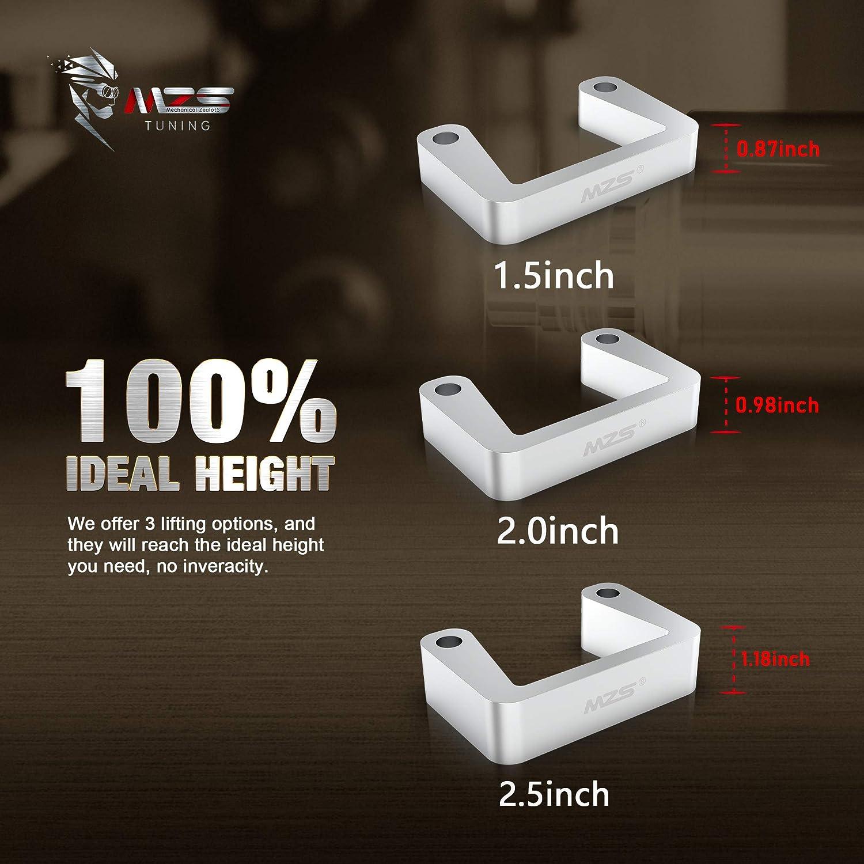 Yukon Sierra//Yukon XL 1500 MZS 2.5 Front Leveling Lift Kit Compatible with 2007-2020 Tahoe Silverado//Avalanche//Suburban 1500