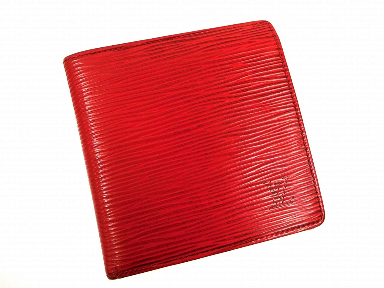 [ルイヴィトン] LOUIS VUITTON 二つ折り財布 エピ M6354E エピレザー X11515 中古 B01FM0JGGQ