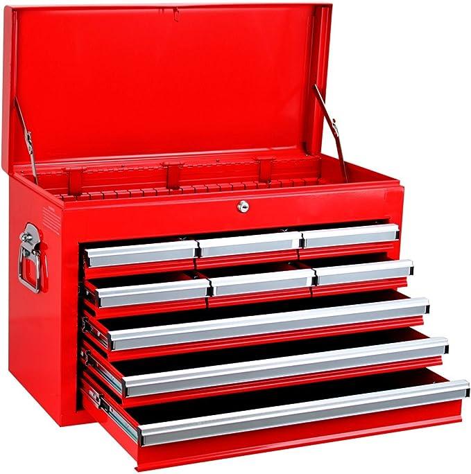 Ampro t47065 baúl Outillage 8 cajones, 660 x 305 x 430 mm: Amazon.es: Coche y moto