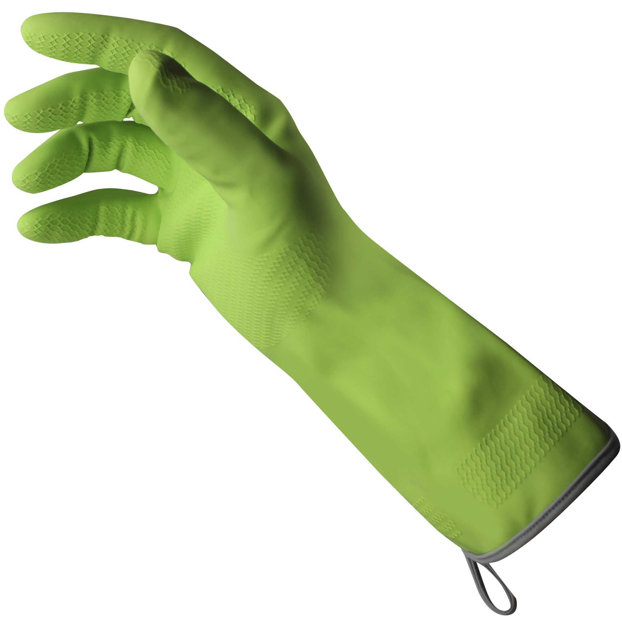 Dawn 233362 Elite, Medium Seamless Nylon Knit Lining, Non-Slip Wet & Dry Grip, Reinforced Cuff with Hanging Loops Gloves, (M)