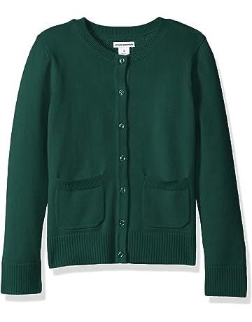 f6937edaa96b8 Amazon Essentials Girls' Uniform Cardigan Sweater. #2