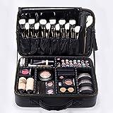 "ROWNYEON Portable EVA Professional Make up Case Makeup Artist Case Makeup Train Case Make Up Artist Organizer Bag 14.1""- 14.6'' Medium"