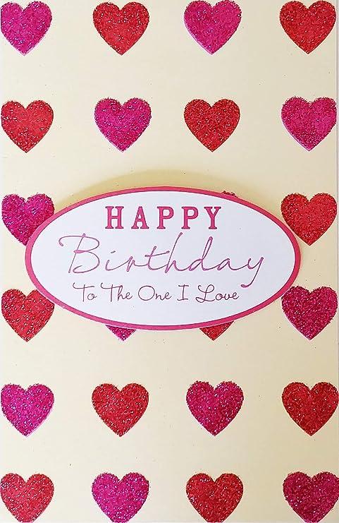 Love Heart Card For WIFE HUSBAND BOYFRIEND GIRLFRIEND Happy Birthday To My Lover