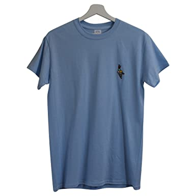 48f166d2f2e Actual Fact Gucci Mane Hip Hop Trap House Embroidered Sky Blue Hip Hop Tee T -Shirt (Small-XXL)  Amazon.co.uk  Clothing