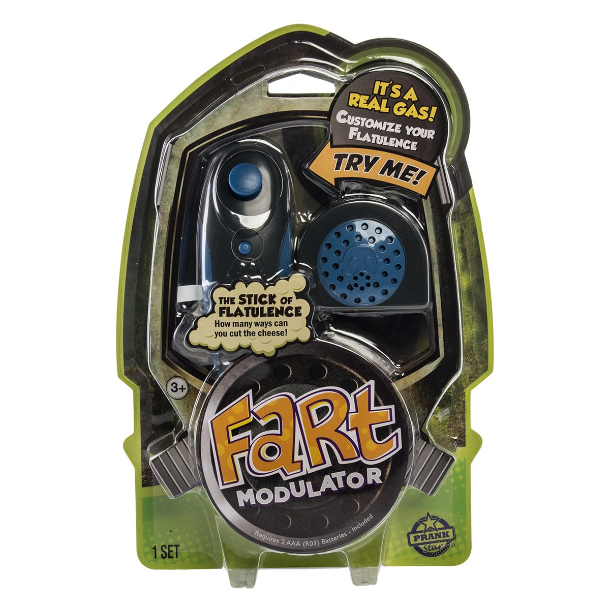 Amazon.com: Prank Star Fart modulador, 1 Set: Toys & Games