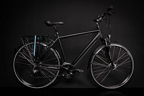 Mifa - Bicicleta de Aluminio, de trekking, con dinamo de buje ...