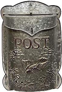 The Nifty Nook I Vintage Style Post Box I Nostalgic Charm Home Decor I Farmhouse Design I 15.9