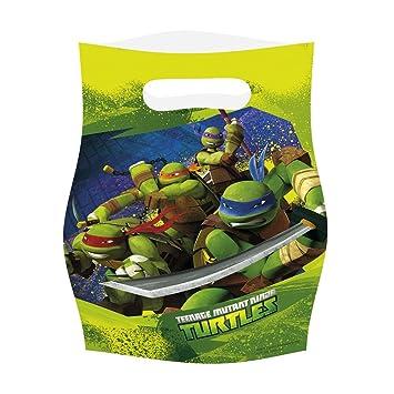 bolsitas para regalos y dulces para cumpleaos bolsas de regalo de plstico tortugas ninjas mutantes