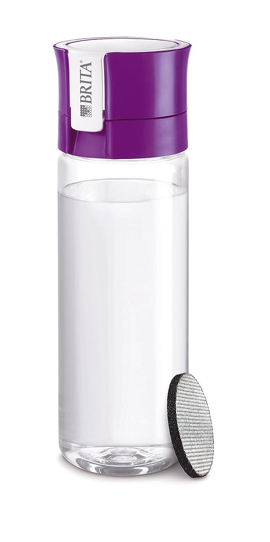 Brita Fill& Go Bottle Filtr Purple Botella con - Filtro de Agua (78 mm, 72 mm, 245 mm, 200 g, 1 Pieza(s)) 1016336