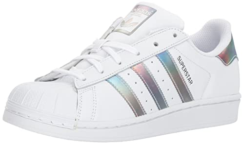 pretty nice 085b6 42af4 Adidas Superstar - Zapatillas para niños, Blanco Blanco Dorado Metallic, 11  MX