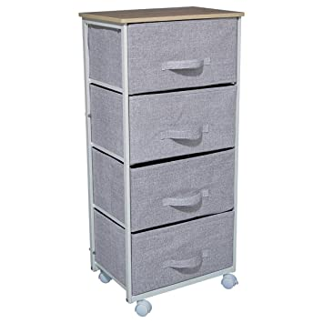 more photos 169e5 87093 ID SPACE Chest of 4 drawers on wheels - Stylish and ...
