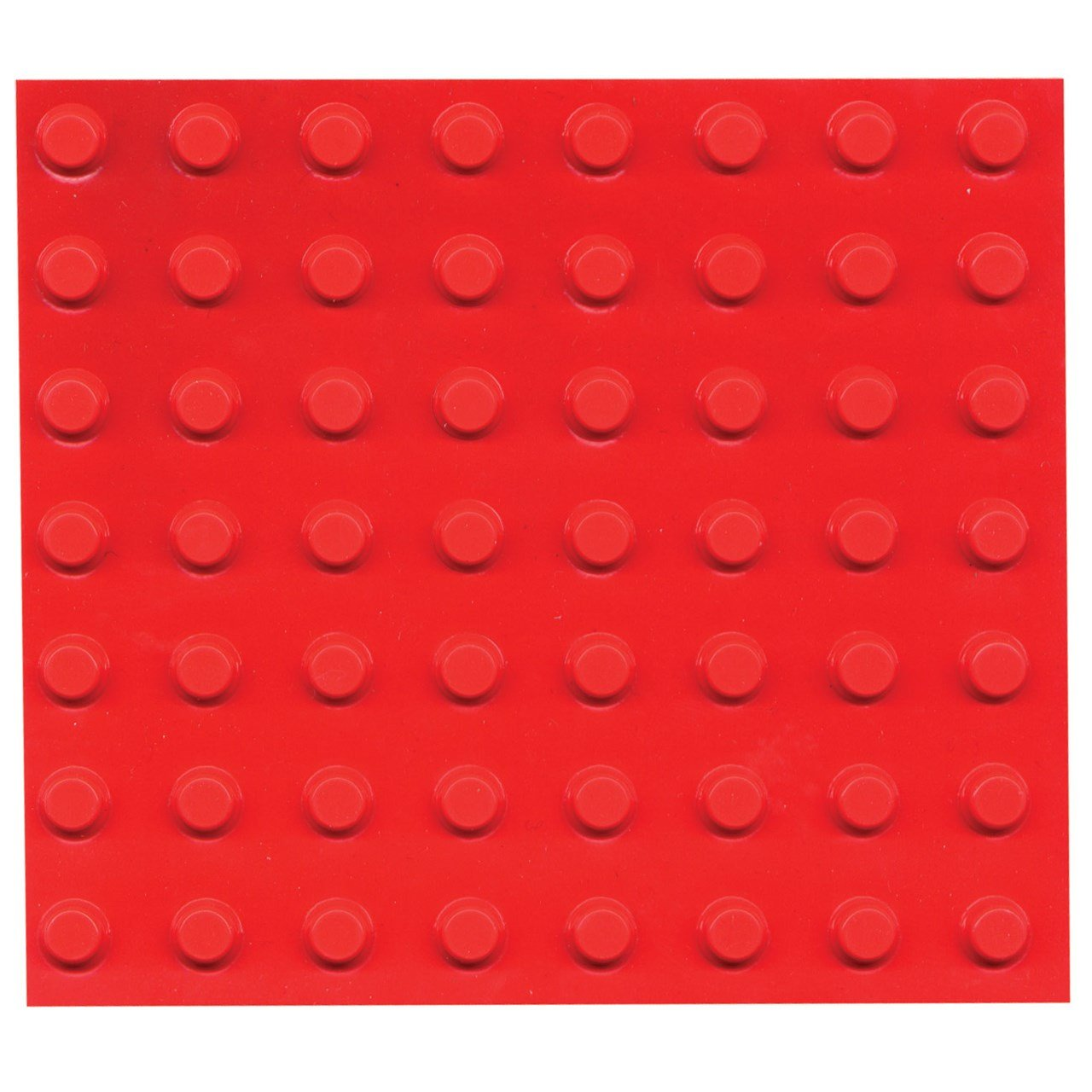Bump Dots- Round-Flat Top-Fluor Orange-Small-56pk MaxiAids
