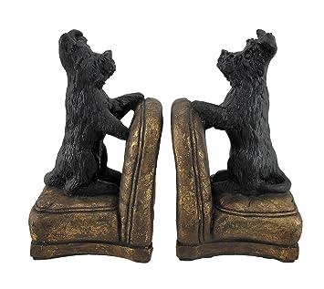 Set de 2 con forma de Scottish Terrier perros de sillones ...