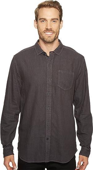 Mod-o-doc Men's Balboa Long Sleeve Shirt Fossil Shirt