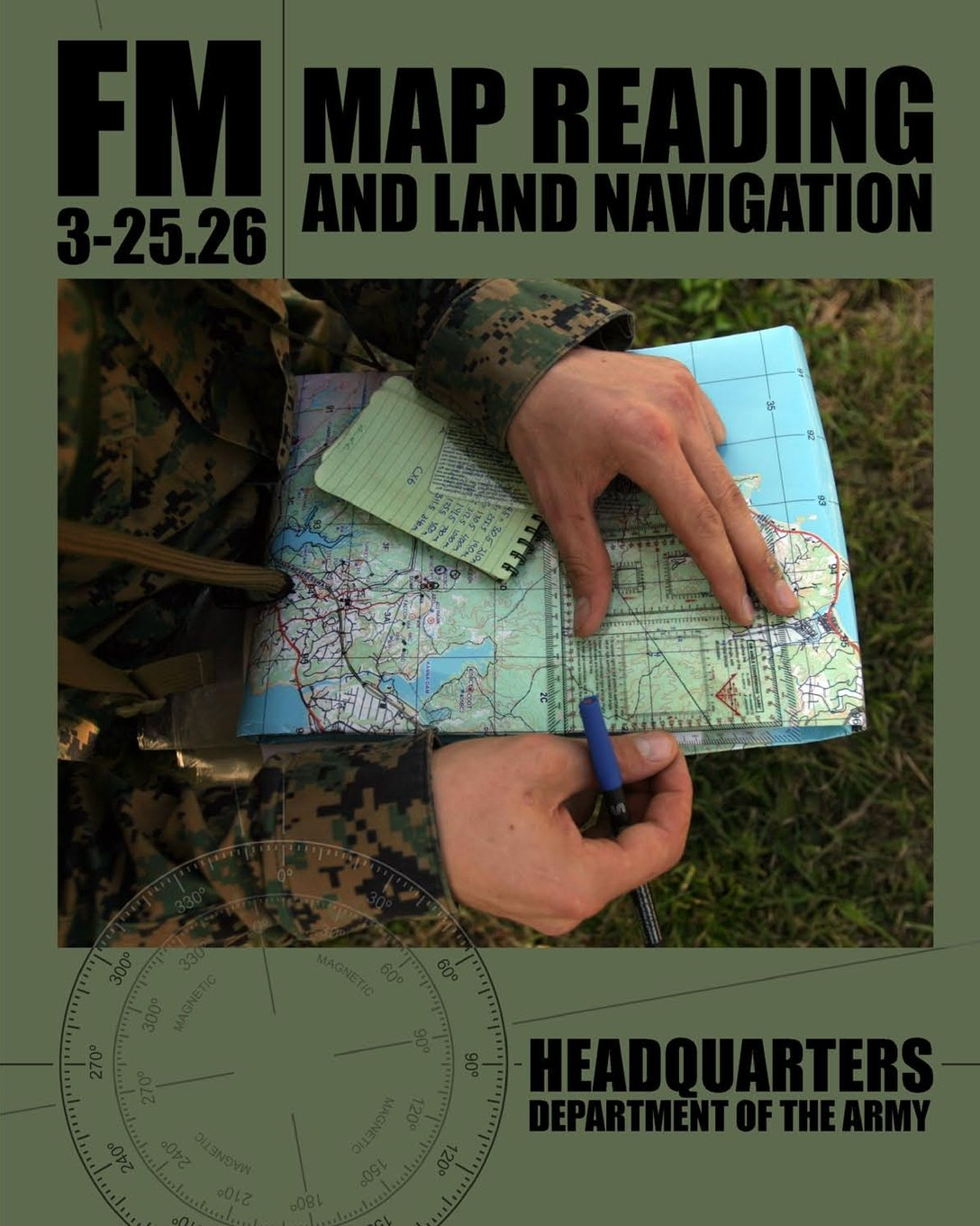 Map Reading And Land Navigation FM Department Of The - Us army map reading