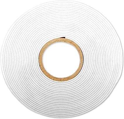 Foam Tape Stick It One Size White