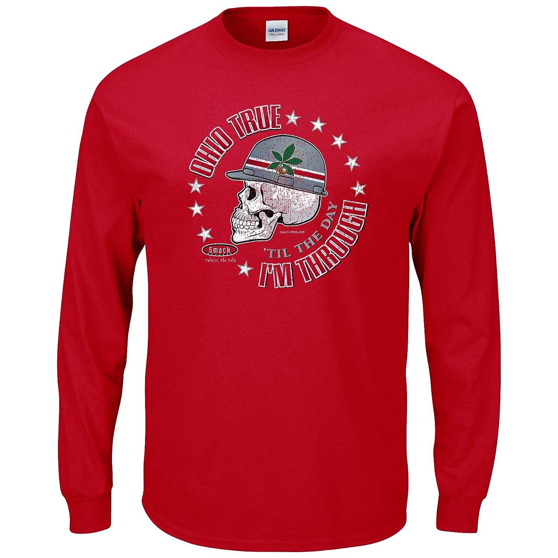 【第1位獲得!】 オハイオ州状態サッカーファン。オハイオTrue ' ) Til My日はthrough ' Til。レッド長袖Tシャツ( sm-5 X ) 4L B01N686K67, 生活セレクトショップトレフール:60f60878 --- a0267596.xsph.ru