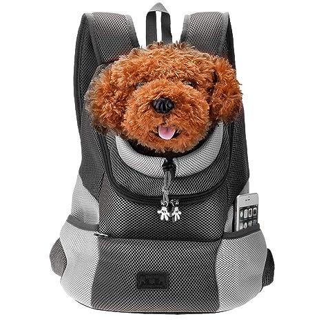 PETEMOO Mascota Portador Mochila Bolsa para los Perros de ...