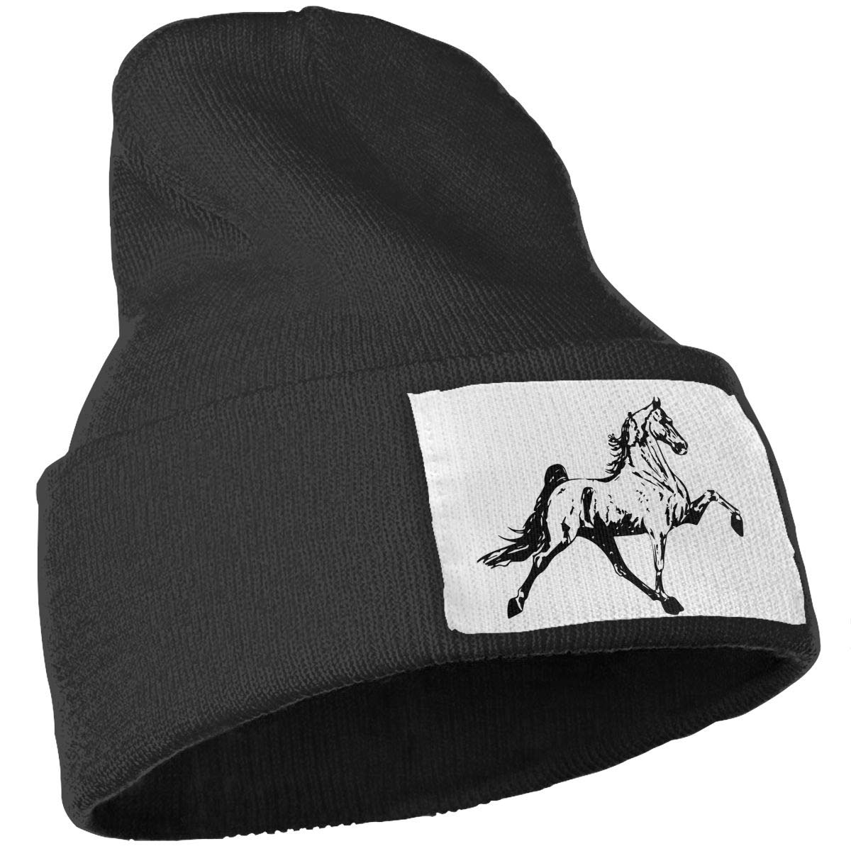 WHOO93@Y Mens Womens 100/% Acrylic Knit Hat Cap Tennessee Walking Horse Thick Ski Cap