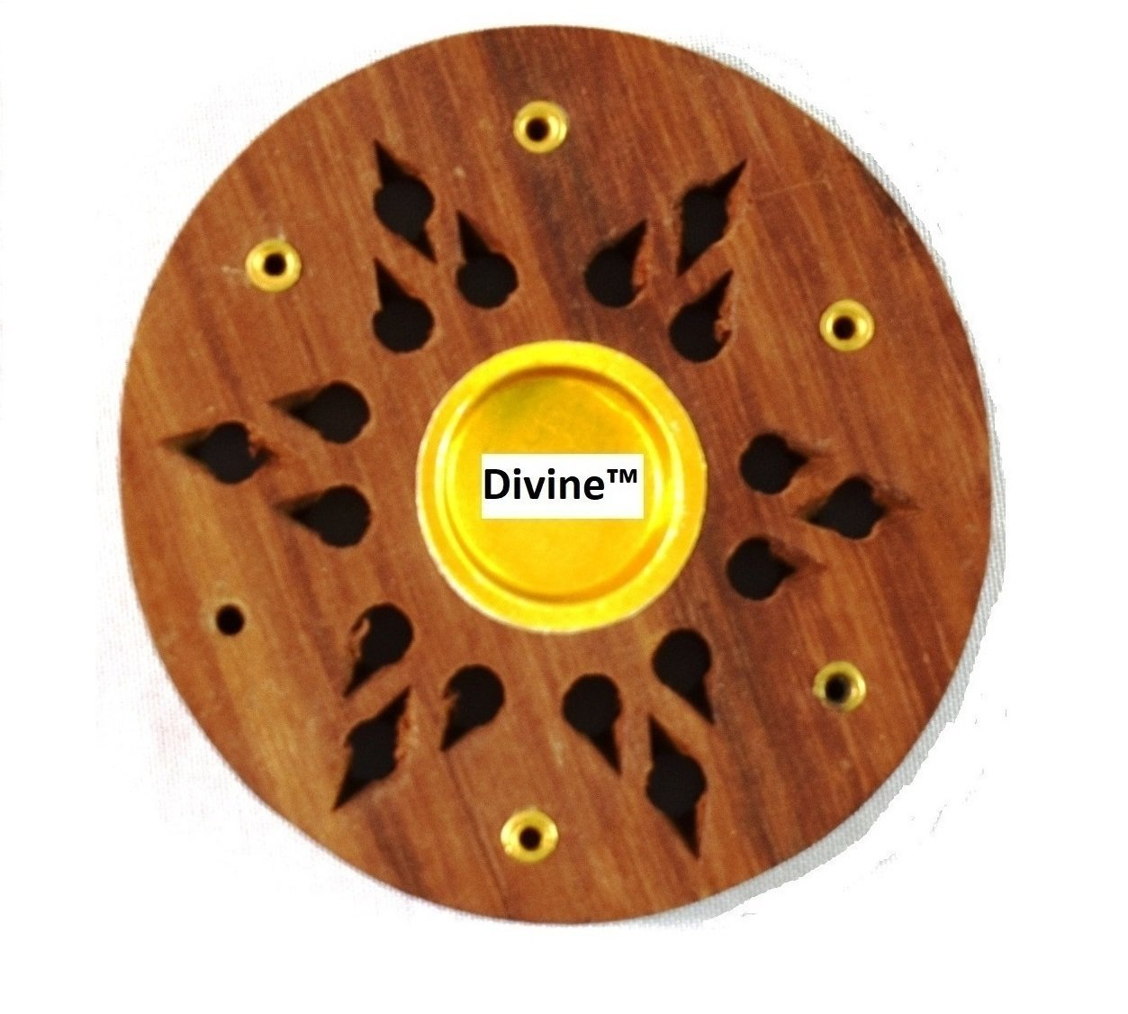 Divine Incense Holder Free With Golden Pearl Metallic Coloured Fragranced Premium Incense Sticks Agarbatti 1 KG Pack | 10 Packs of 100 Grams | Export Quality by Divine