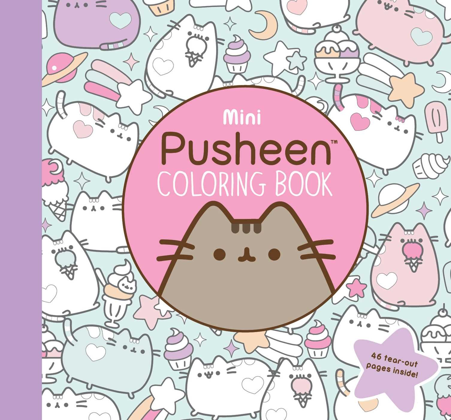 Amazon.com: Mini Pusheen Coloring Book (9781501180972): Claire ...