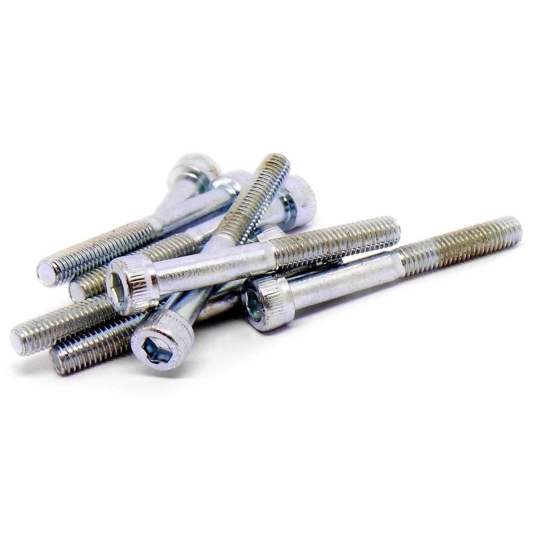 M5/ 5/mm X 50/mm lot de 20 Douille hexagonale T/ête capuchon Vis Boulons en acier