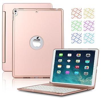 iPad Pro 10,5 pulgadas teclado caso, seetop 7 colores ...