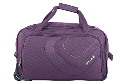 Image Unavailable. Image not available for. Colour  Safari Trac Fabric 66 cms  Purple Softsided (TRAC 65 Rolling Duffle) Medium Luggage 4852d25fce306