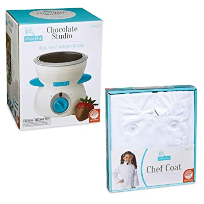 MindWare Playful Chef Chocolate Studio and Chef Coat: Toys & Games