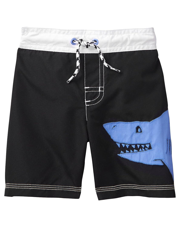 Gymboree Boys' Toddler Shark Swim Trunks,