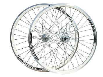 Accent Roadrunner fijo Gear llantas Joytech Fixie sola velocidad bicicleta de pista, Roadrunner, blanco: Amazon.es: Deportes y aire libre