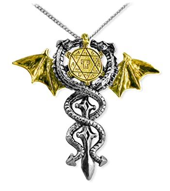 Amazon seal of dragons amulet necklace pendant necklaces jewelry seal of dragons amulet necklace aloadofball Gallery