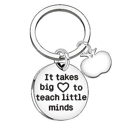 Amazon.com   Teacher Gifts Graduation Key Chain Women Men Key Ring ... a53bcb5157