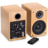 Peachtree Audio M24 Powered Speakers (Pair) (Real Bamboo)